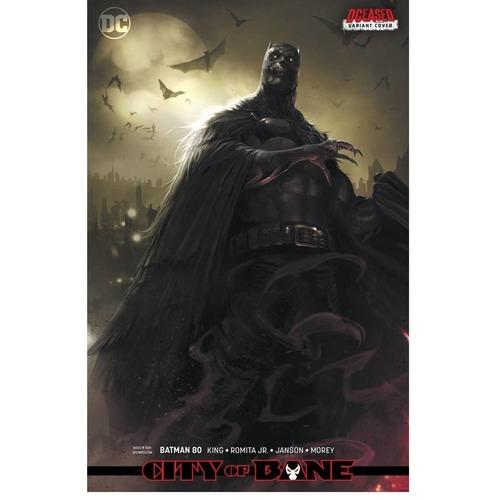 BATMAN #80 - CARD STOCK VARIANT - MATTINA