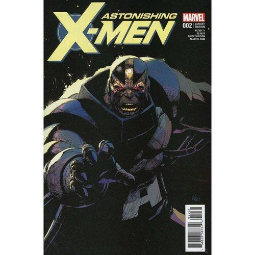ASTONISHING X-MEN #2 LEINIL FRANCIS YU COVER