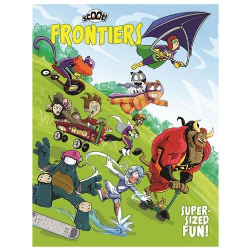 SCOOT FRONTIERS ISSUE ONE