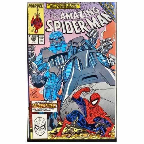 AMAZING SPIDER-MAN #329
