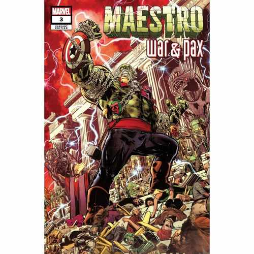 MAESTRO WAR AND PAX #3 (OF 5) JIMENEZ VAR