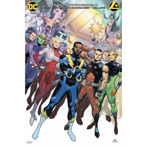 LEGION OF SUPER HEROES 2 CARD STOCK VAR ED