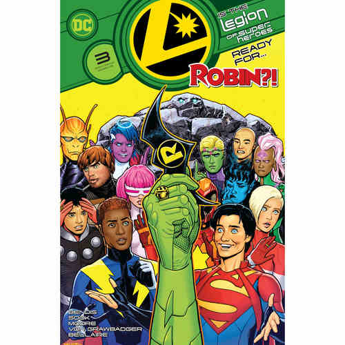 LEGION OF SUPER HEROES 3