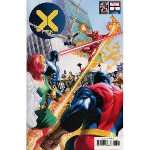 X-MEN 3 ALEX ROSS MARVELS 25TH VAR DX