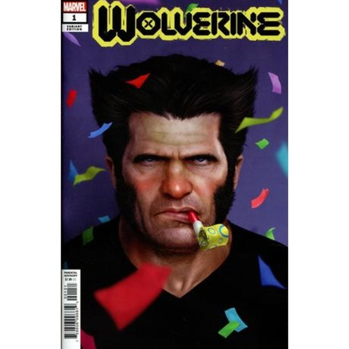 WOLVERINE #1 RAHZZAH PARTY VAR DX
