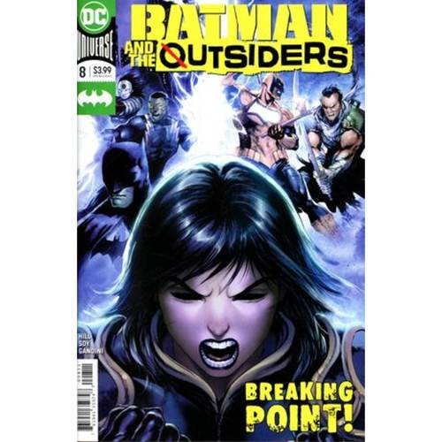 BATMAN AND THE OUTSIDERS 8