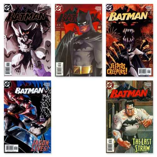 BATMAN 626 - 630 5 PART STORY