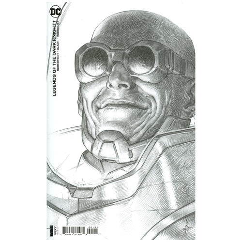 Legends of the Dark Knight #1 1:25 Riccardo Federici Variant Edition
