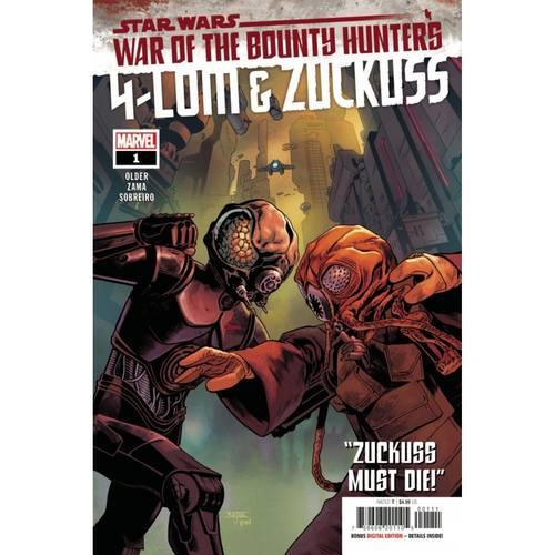 STAR WARS WAR BOUNTY HUNTERS 4-LOM ZUCKUSS #1