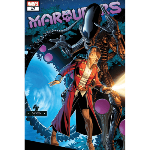 MARAUDERS #17 LARROCA MARVEL VS ALIEN VAR