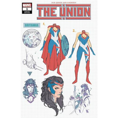 THE UNION #1 (OF 5) SILVA DESIGN VAR KIB