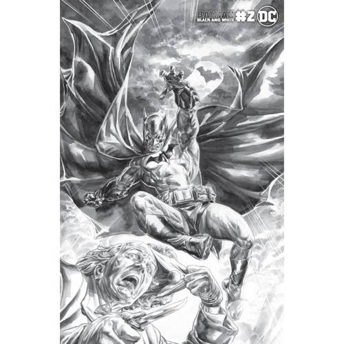 BATMAN BLACK AND WHITE #2 (OF 6) CVR B DOUG BRAITHWAITE VAR