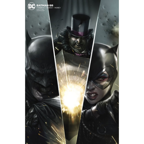 BATMAN 88 CARD STOCK FRANCESCO MATTINA VAR ED