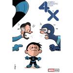 X-MEN FANTASTIC FOUR 1 OF 4 ELIOPOULOS VAR