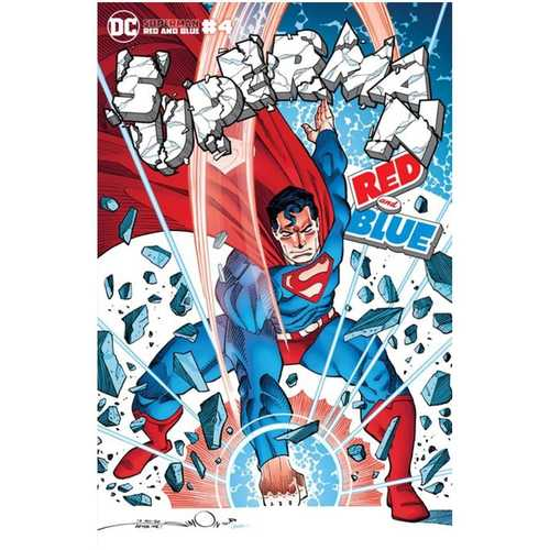 SUPERMAN RED & BLUE #4 (OF 6) CVR B WALTER SIMONSON VAR