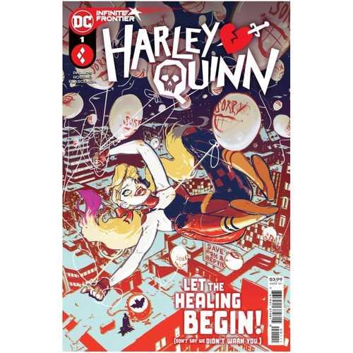 HARLEY QUINN #1 CVR A RILEY ROSSMO