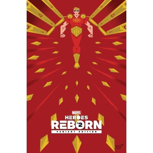 HEROES REBORN #2 1:50 Veregge Variant