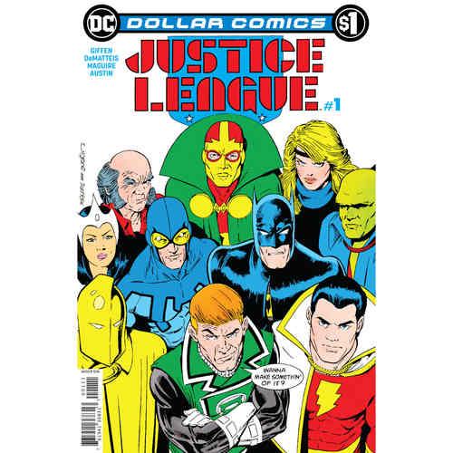 DOLLAR COMICS JUSTICE LEAGUE 1 1987