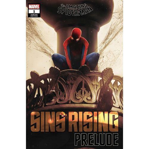 AMAZING SPIDER-MAN SINS RISING PRELUDE #1 BOSS LOGIC VAR