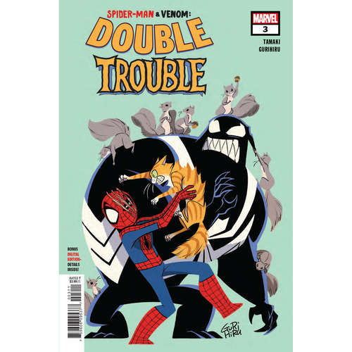 SPIDER-MAN & VENOM DOUBLE TROUBLE 3 OF 4