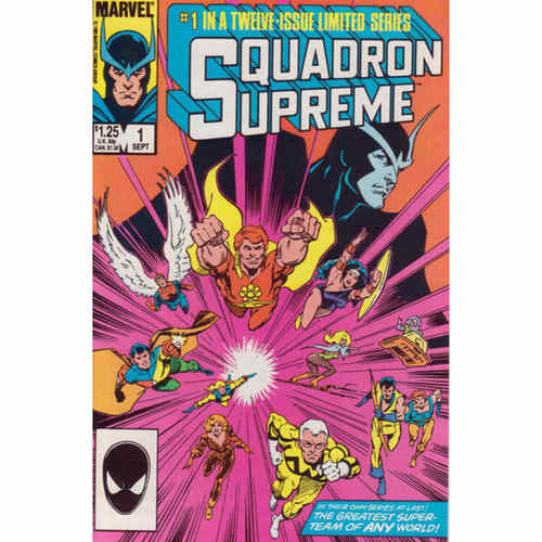 SQUADRON SUPREME (MARVEL) #1 - #12 MAXI SERIES