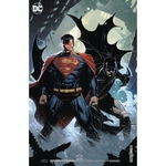 BATMAN SUPERMAN 5 CARD STOCK VAR ED