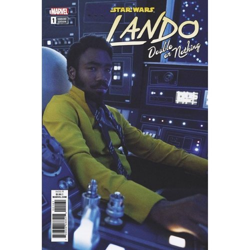 STAR WARS LANDO - DOUBLE OR NOTHING 1 - MOVIE VAR