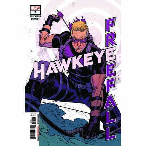 HAWKEYE FREE FALL #5
