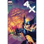 X-MEN FANTASTIC FOUR 3 OF 4 HETRICK FLOWER VAR
