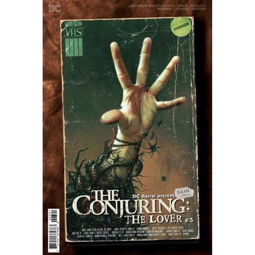 DC HORROR PRESENTS THE CONJURING THE LOVER #3 (OF 5) CVR B RYAN BROWN MOVIE POSTER CARD STOCK VAR (MR)