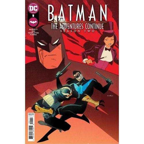 BATMAN THE ADVENTURES CONTINUE SEASON II #2 (OF 7) CVR A KRIS ANKA