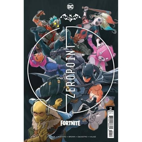 BATMAN FORTNITE ZERO POINT #2 Second Printing