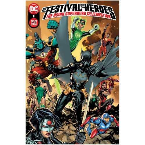 DC FESTIVAL OF HEROES THE ASIAN SUPERHERO CELEBRATION #1 (ONE SHOT) CVR A JIM LEE