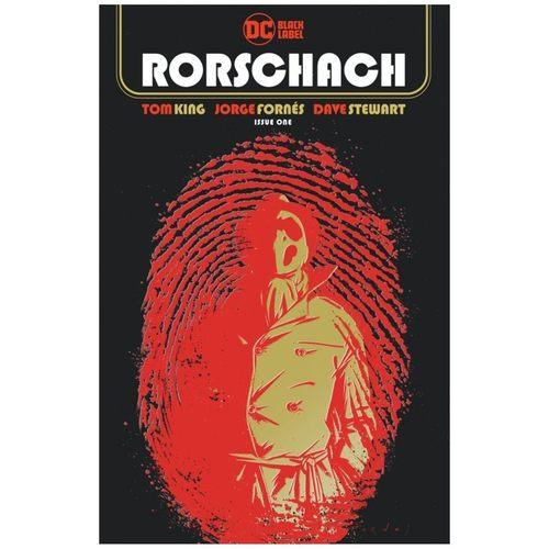 RORSCHACH #1 (OF 12) CVR A JORGE FORNES (MR)