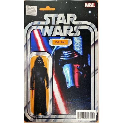 Star Wars The Force Awakens #5 - JTC Kylo Ren Action Figure Variant