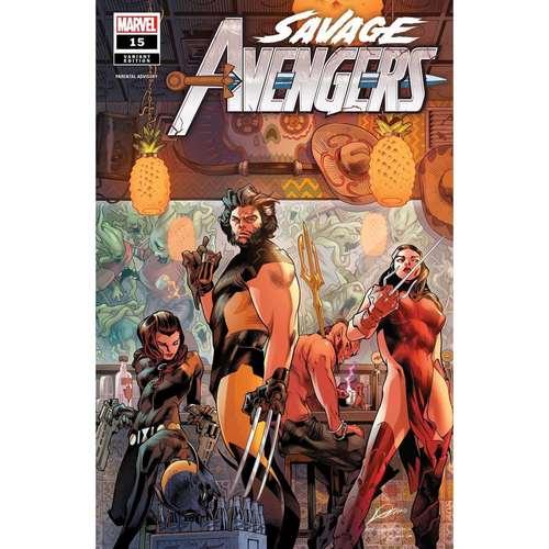 SAVAGE AVENGERS #15 LOZANO VAR