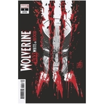 WOLVERINE BLACK WHITE BLOOD #1 (OF 4) GARNEY VAR