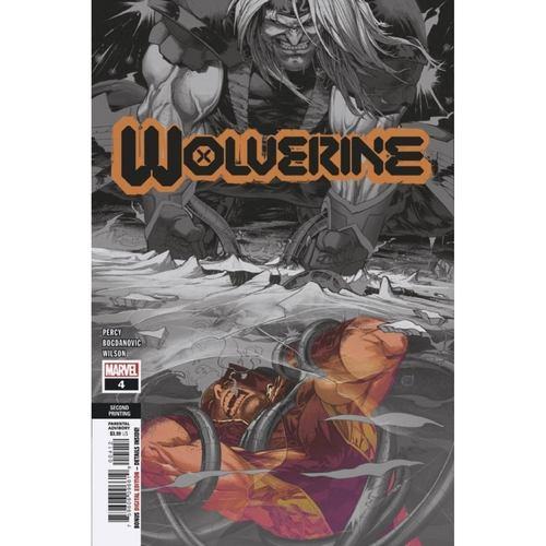 WOLVERINE #4 2ND PTG VAR