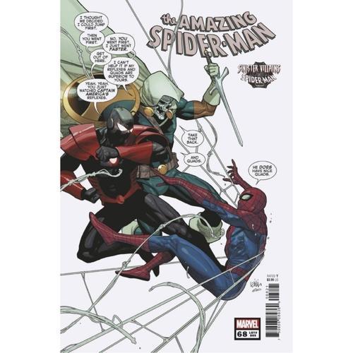 AMAZING SPIDER-MAN #68 YU SPIDER-MAN VILLAINS VAR