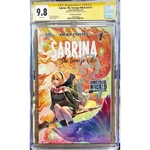 SABRINA THE TEENAGE WITCH : SOMETHING WICKED #1 DAY VARIANT CGC 9.8 YELLOW LABEL