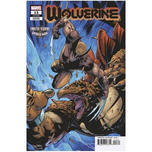 WOLVERINE #13 BENJAMIN SPIDER-MAN VILLAINS VAR GALA