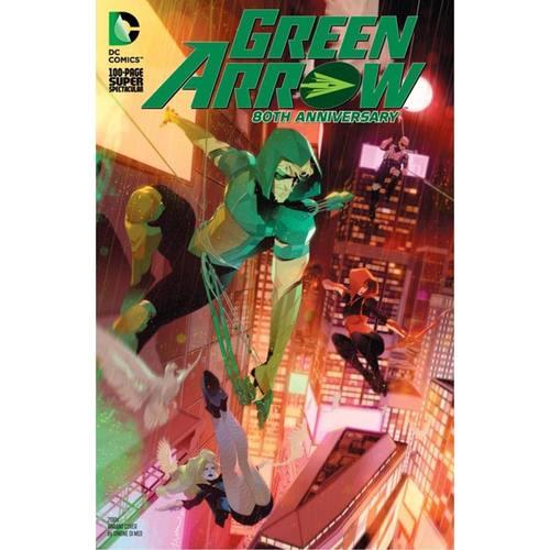 GREEN ARROW 80TH ANNIVERSARY 100-PAGE SUPER SPECTACULAR #1 CVR I SIMONE DI MEO 2010S VAR