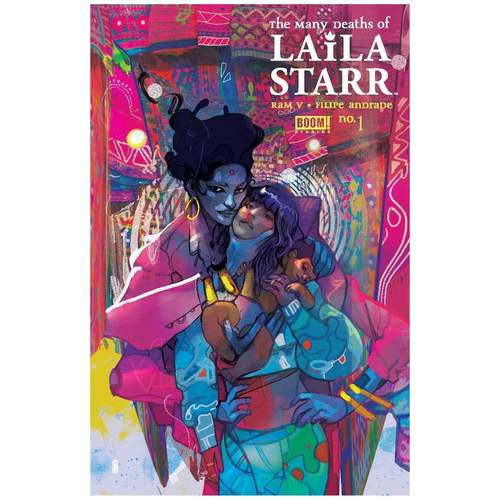 MANY DEATHS OF LAILA STARR #1 (OF 5) 2ND PTG WARD