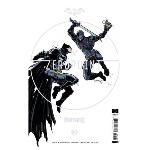 BATMAN FORTNITE ZERO POINT #3 (OF 6) PREMIUM VAR C DONALD MUSTARD CARD STOCK (25 COPY MIN ORDER)