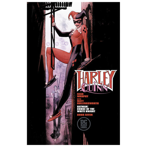 BATMAN CURSE OF THE WHITE KNIGHT 7 OF 8 SEAN MURPHY VAR E
