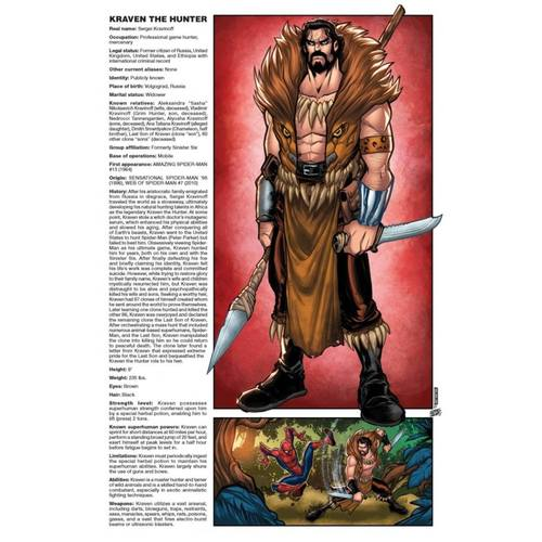 SINISTER WAR #3 (OF 4) BALDEON HANDBOOK VAR