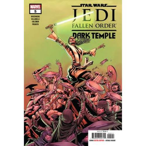 STAR WARS JEDI FALLEN ORDER DARK TEMPLE 5 OF 5