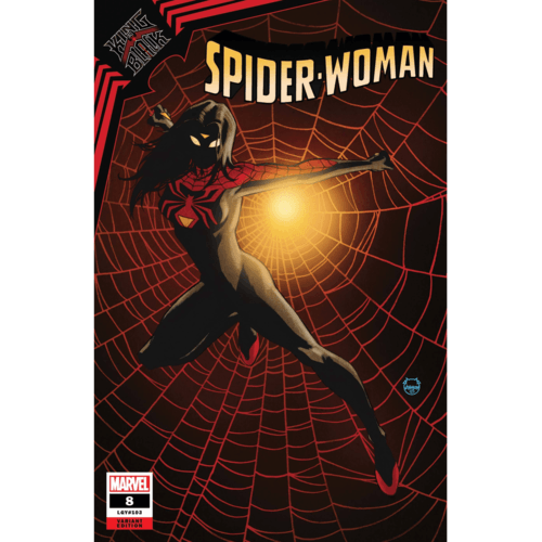 SPIDER-WOMAN #8 JOHNSON VAR KIB