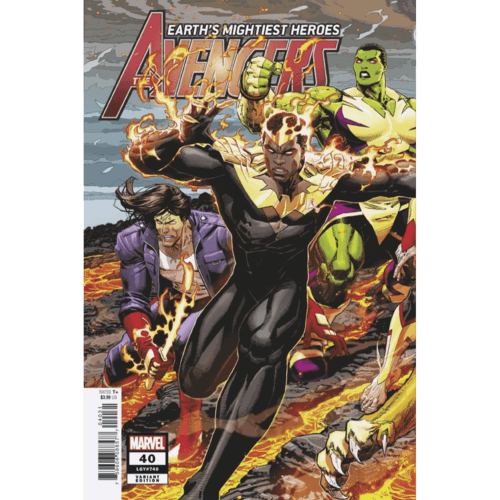 AVENGERS #40 WEAVER CONNECTING VAR