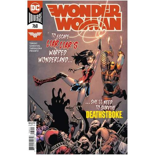 WONDER WOMAN #768 CVR A DAVID MARQUEZ